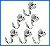 AmHoo Strong Magnetic Hooks Heavy Duty for Indoor Outdoor Kitchen Refrigerator G