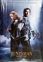 THE HUNTSMAN WINTERS WAR  2016 Original 27 x 40 inch D/S Sci-Fi cinema poster