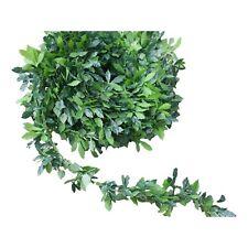 Rosenblatt Girlande dichte Grüngirlande  Buchsbaum basteln Tischgirlande