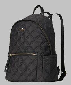 Kate Spade WKR00580 Chelsea Large Backpack Black Tote Bag
