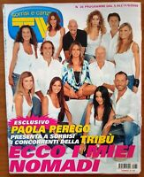 AL93 MAGAZINE SORRISI CANZONI 36 2009 PAOLA PEREGO TERENCE HILL LIGABUE BERTE'