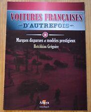 Voitures françaises d'autrefois, Altaya, n°10, Hotchkiss Grégoire