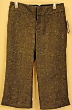 NWT Merona Low Waist Slim Through Hip and Thigh Cropped Pants Modern Fit Size 4