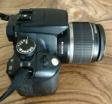 Canon EOS Digital Rebel XT With Zoom Lens.