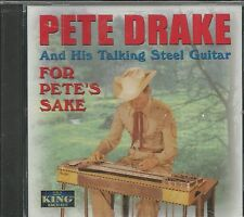PETE DRAKE CD - For Pete's Sake - BRAND NEW
