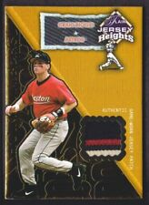 2002 Flair Baseball JERSEY Heights Hot Number PATCH Craig Biggio 072/100 Astros