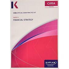 F3 Financial Strategy - CIMA Exam Practice Kit by Kaplan Publishing (Paperback,