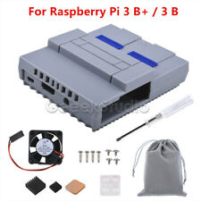 NES Style Case Enclosure SNES Case Kit with Cooling Fan Heatsinks