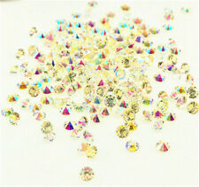 2000 white Wedding Decoration Scatter Crystals Table Diamonds Confetti 3mmAB