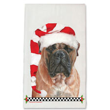 Bullmastiff Christmas Kitchen Towel Holiday Pet Gifts