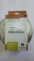 "CORTLAND "" PRECISION "" Premium Fly Line WF8   dual welded loops CHAT/IVORY  HTx"