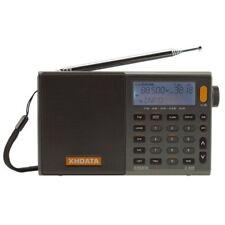 XHDATA D-808 Portable Alarm Clock Radio FM SW MW LW SSB RDS Air Band World Band