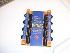 Original 1940' s 1950' s Vintage Accessory Sparkplug wire Kravex Dry caps nos