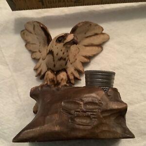 Antique Black Forest Eagle, Thimble Holder