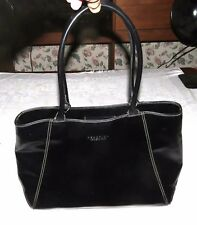 Kenneth Cole Reaction Black Handbag Purse Tote Shopping Bag