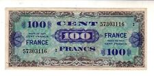 Francia France 100 franchi WWII 1944  BB VG Pick 118  lotto 2151