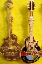 Hard Rock Cafe TORONTO 1990's Black Guitar CN Tower PIN - HRC Catalog #12261