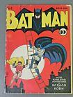 1941 Golden Age DC Batman #4 1st Mention Gotham City Joker Rare Key Hot 2.0