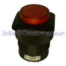 Illuminated Red Push Button Switch Light Led 4 Pins 1.5A/250V