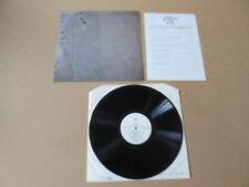 BRIAN ENO Apollo Atmospheres & Soundtracks LP RARE 1983 UK 1ST PRESSING & INSERT