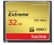 32GB Sandisk Ultra CF Memory Card For Digital Camera