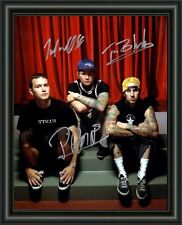 BLINK 182 BAND A4 SIGNED AUTOGRAPHED PHOTO POSTER  FREE POST