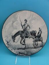 HAND PAINTED SPANISH WALL CHARGER DON QUIXOTE SIGNED