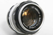 Nikon Nikkor-S 50mm f1.4 Lens Non-AI Mount - manual focus