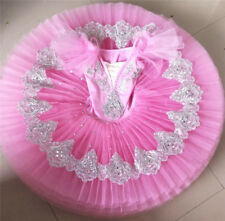 Chic Women Child Tutu Skirt Ballet Dance Dress Training Costume Pro Dancewear