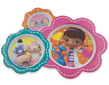 DOC MCSTUFFINS MEALTIME MAGIC DIVIDED 3 RECESSED SECTIONED PLATE CHILD FEEDING