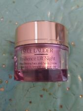 ESTEE LAUDER RESILIENCE LIFT  NIGHT LIFTING FIRMING FACE & NECK CREME 1 OZ