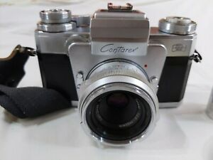 Contarex. Carl Zeiss lenses and all accessories