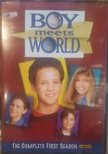 BOY MEETS WORLD RARE DELETED DVD THE COMPLETE FIRST SEASON 1ST SERIES TV SHOW