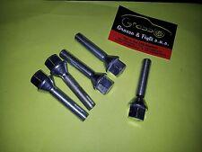 x20 Bullone Ruota per auto conico M 12x1,50 chiave 17 Lungh 50 in acciaio 10.9