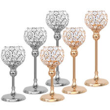 Votive Crystal Candle Holders Pillar Table Centerpiece for Wedding Dinner Decor
