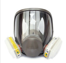 3M 6800+6002 7 piece suit Respirator Fully Facepiece for Spray Painting Gas mask