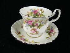 Royal Albert Moss Rose  Gr. Kaffeegedeck 2 tlg.