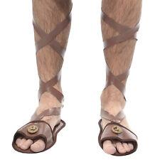 Sandal Roman Costume Adult Man Gladiator Roman César Egyptien