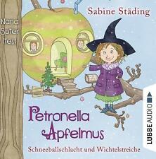 Petronella Apfelmus 03 - Schneeballschlacht und Wichtelstreiche (2015, Hörbuch)