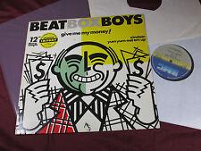 The Beat Box Boys  GIVE ME MY MONEY / EINSTEIN 12'' Maxi Belgium 1984 sehr gut