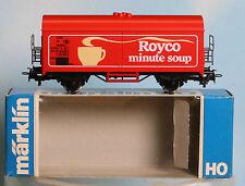 Märklin 4415..., Spur H0, Sondermodell / SNCB Kühlwagen Royco minute soup