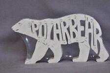 Polar Bear Animal Wood Puzzle Amish Made Toy