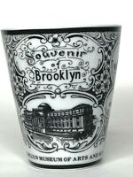 Brooklyn Museum Arts And Sciences Coffee Tea Mug NYC Vintage Elegant Porcelain