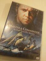 Dvd  MASTERS & COMMANDER con RUSSELL  CROWE coleccionistas
