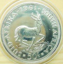 SÜD AFRIKA  50 CENTS   1961 RR