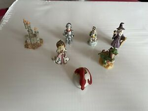 Miniature Fantasy Figurines x 7