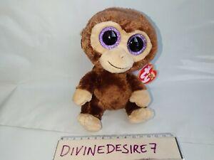 TY Beanie Boos Coconut Plush Monkey Boo Cute with Tags