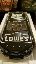 2014 Jimmie Johnson #48 Autographed Lowe's Daytona Test car 1/24th