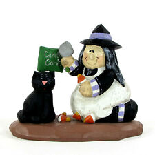 """Midwest of Cannon Falls Witch Candy Corn 4.5"""" Figurine Eddie Walker Halloween"""