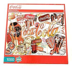 1000 Piece Enjoy Coca-Cola Jigsaw Puzzle by Buffalo Games Soda Pop Collector New